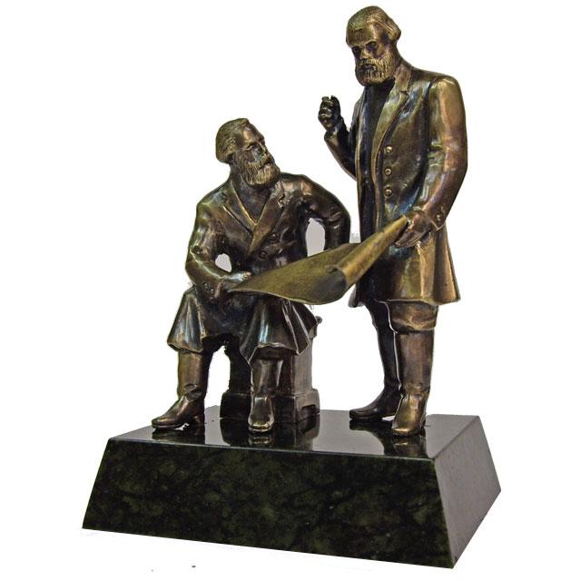 Отец и сын Черепановы (г.Н.Тагил)