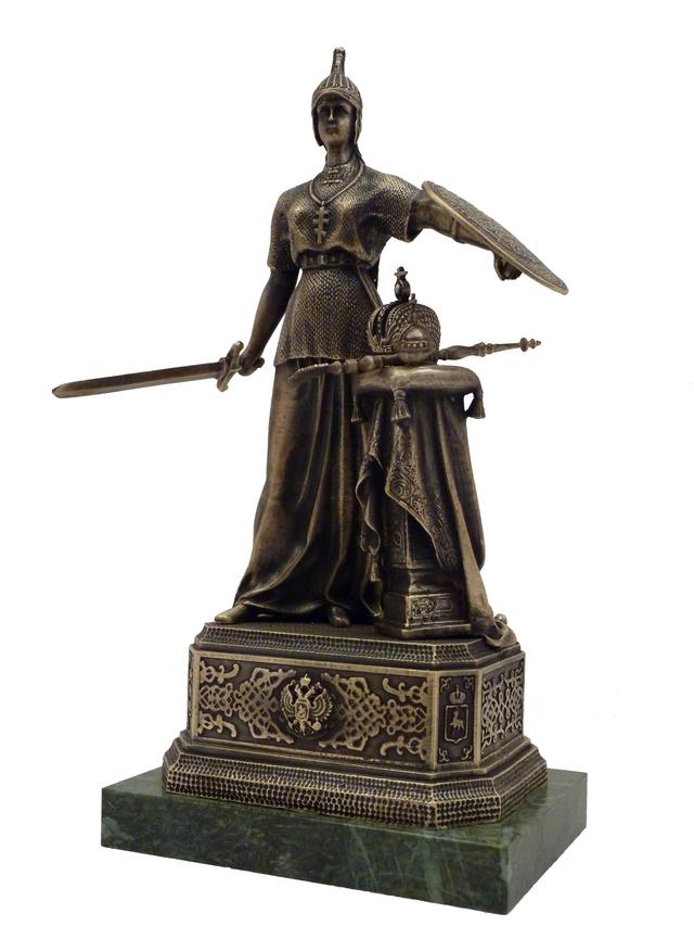 Копия скульптуры  «Великая Россия»   (большая)