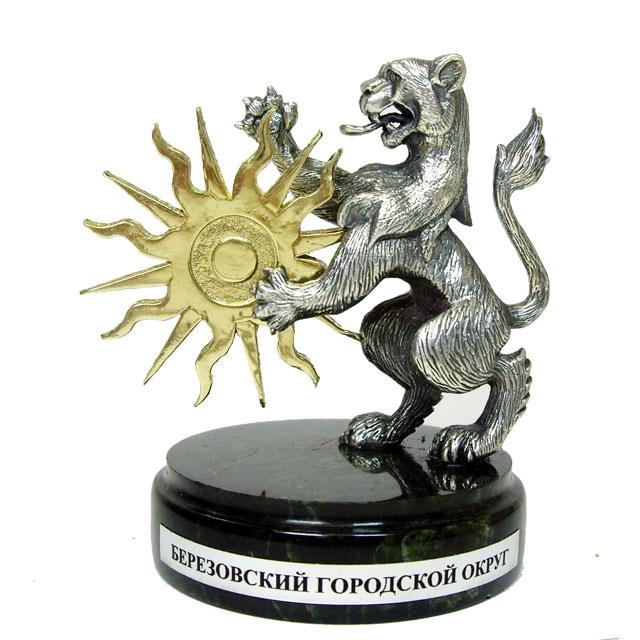 Лев – герб Березовского