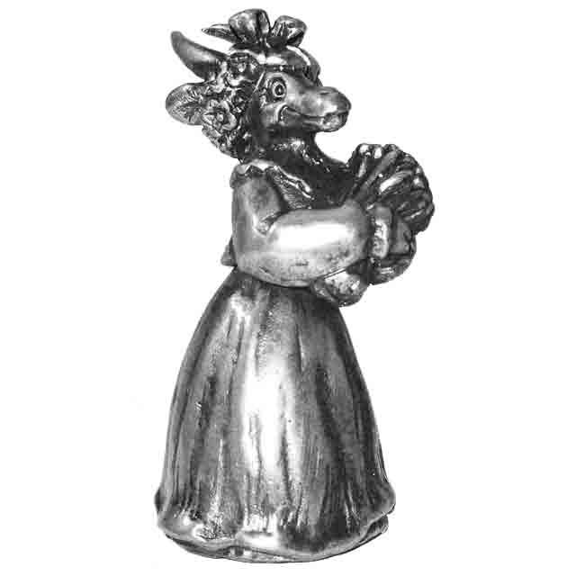 Коза ( малая)(серебрение)